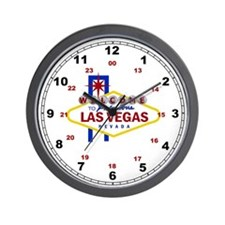 Welcome to Fabulous Las Vegas Sign Wall Clock