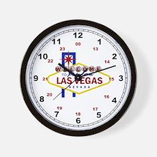 Welcome to Fabulous Las Vegas Sign Wall Clock