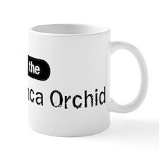 Obey the Peruvian Inca Orchid Mug