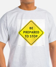 Be Prepared... Ash Grey T-Shirt