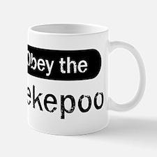 Obey the Pekepoo Mug
