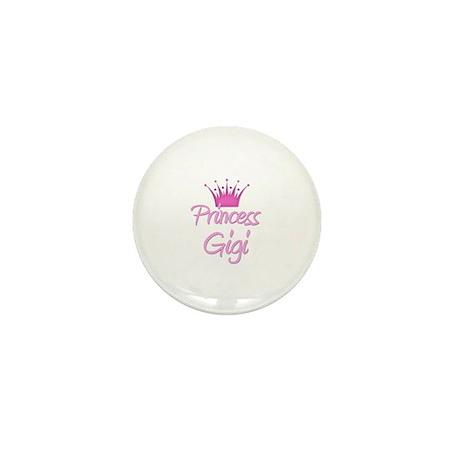 Princess Gigi Mini Button