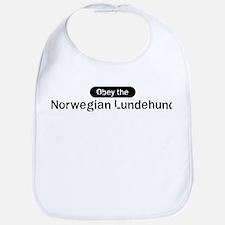 Obey the Norwegian Lundehund Bib