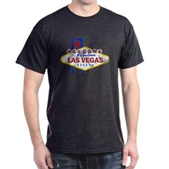 Las Vegas Sign Distressed T-Shirt