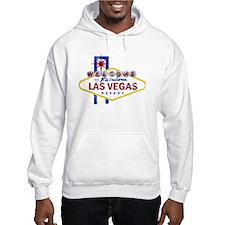 Las Vegas Sign Distressed Hoodie