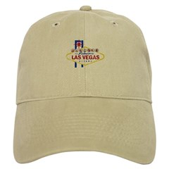 Las Vegas Sign Distressed Baseball Cap