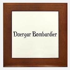 Duergar Bombardier Framed Tile