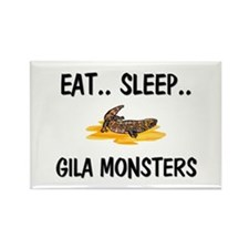 Eat ... Sleep ... GILA MONSTERS Rectangle Magnet