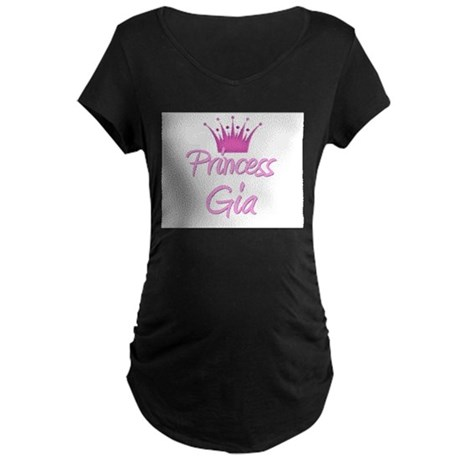 Princess Gia Maternity Dark T-Shirt