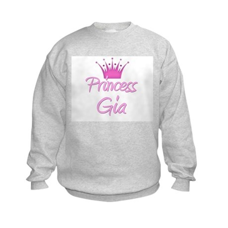 Princess Gia Kids Sweatshirt