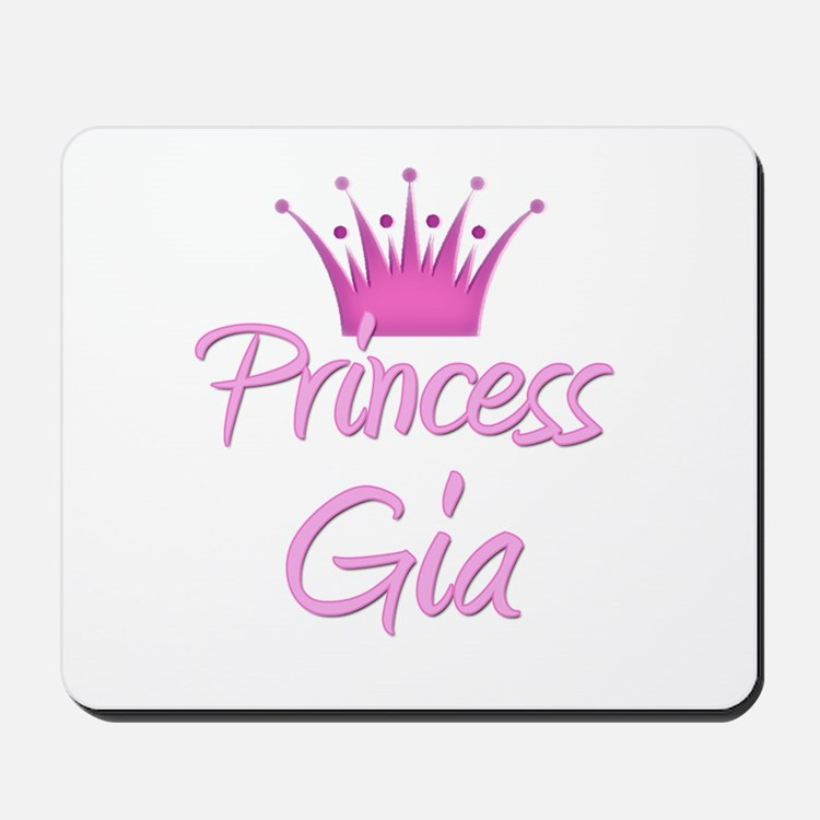 Princess Gia Mousepad