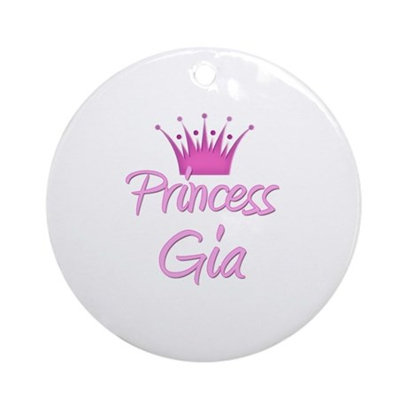Princess Gia Ornament (Round)