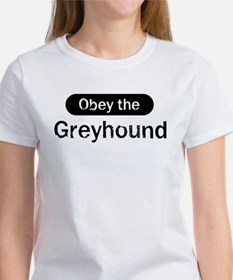 Obey the Greyhound Women's T-Shirt