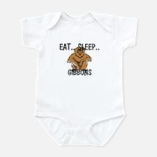 Eat ... Sleep ... GIBBONS Infant Bodysuit