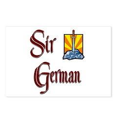 Sir German Postcards (Package of 8)
