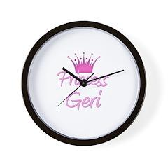 Princess Geri Wall Clock