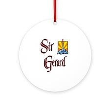 Sir Gerard Ornament (Round)