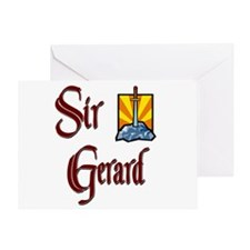 Sir Gerard Greeting Card