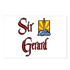 Sir Gerard Postcards (Package of 8)