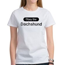 Obey the Dachshund Tee
