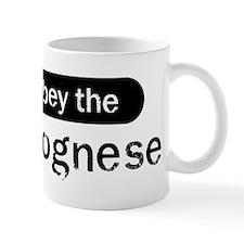 Obey the Bolognese Mug