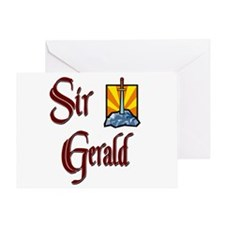 Sir Gerald Greeting Card