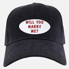 Script Will You Marry Me Baseball Hat