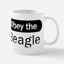 Obey the Beagle Mug
