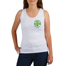 Lucky Alabama Leprechaun Women's Tank Top