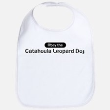 Obey the Catahoula Leopard Do Bib