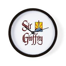 Sir Geoffrey Wall Clock