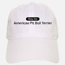 Obey the American Pit Bull Te Baseball Baseball Cap