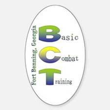 Colorful BCT Oval Decal