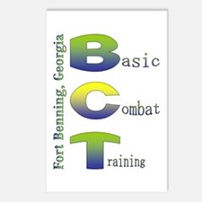 Colorful BCT Postcards (Package of 8)