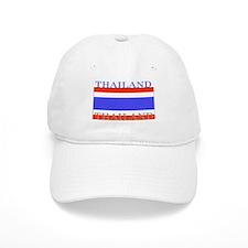 Thailand Thai Flag Baseball Cap