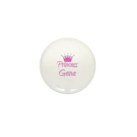 Princess Gena Mini Button