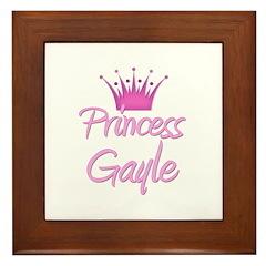 Princess Gayle Framed Tile
