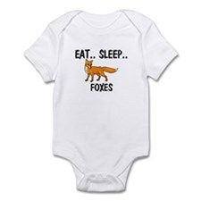 Eat ... Sleep ... FOXES Infant Bodysuit