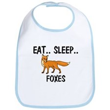Eat ... Sleep ... FOXES Bib