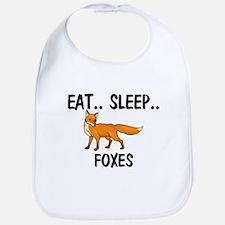 Eat ... Sleep ... FOXES Bib