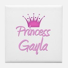 Princess Gayla Tile Coaster