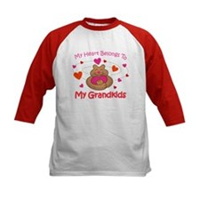 Heart Belongs To Grandkids Tee
