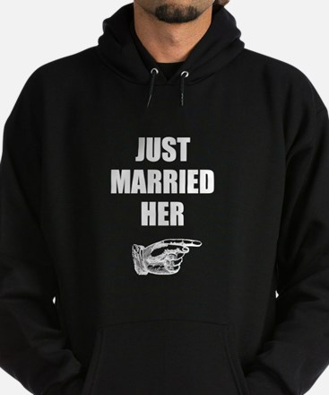 Just Married Her Sweatshirt