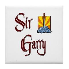 Sir Garry Tile Coaster