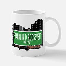 FRANKLIN D ROOSEVELT DRIVE, MANHATTAN, NYC Mug