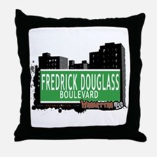 FREDRICK DOUGLASS BOULEVARD, MANHATTAN, NYC Throw