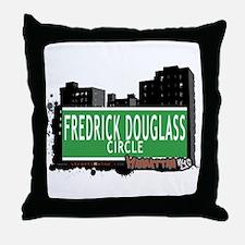 FREDRICK DOUGLASS CIRCLE, MANHATTAN, NYC Throw Pil