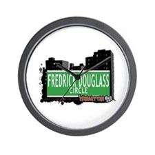 FREDRICK DOUGLASS CIRCLE, MANHATTAN, NYC Wall Cloc