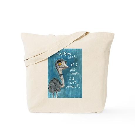 Emo Emu Tote Bag