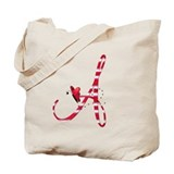 Monogramed tote bag Canvas Bags